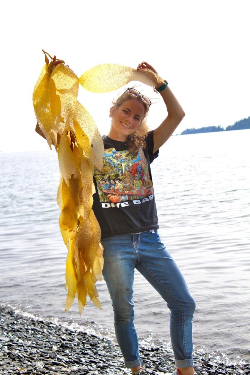 Emily Newton, Marine Biology