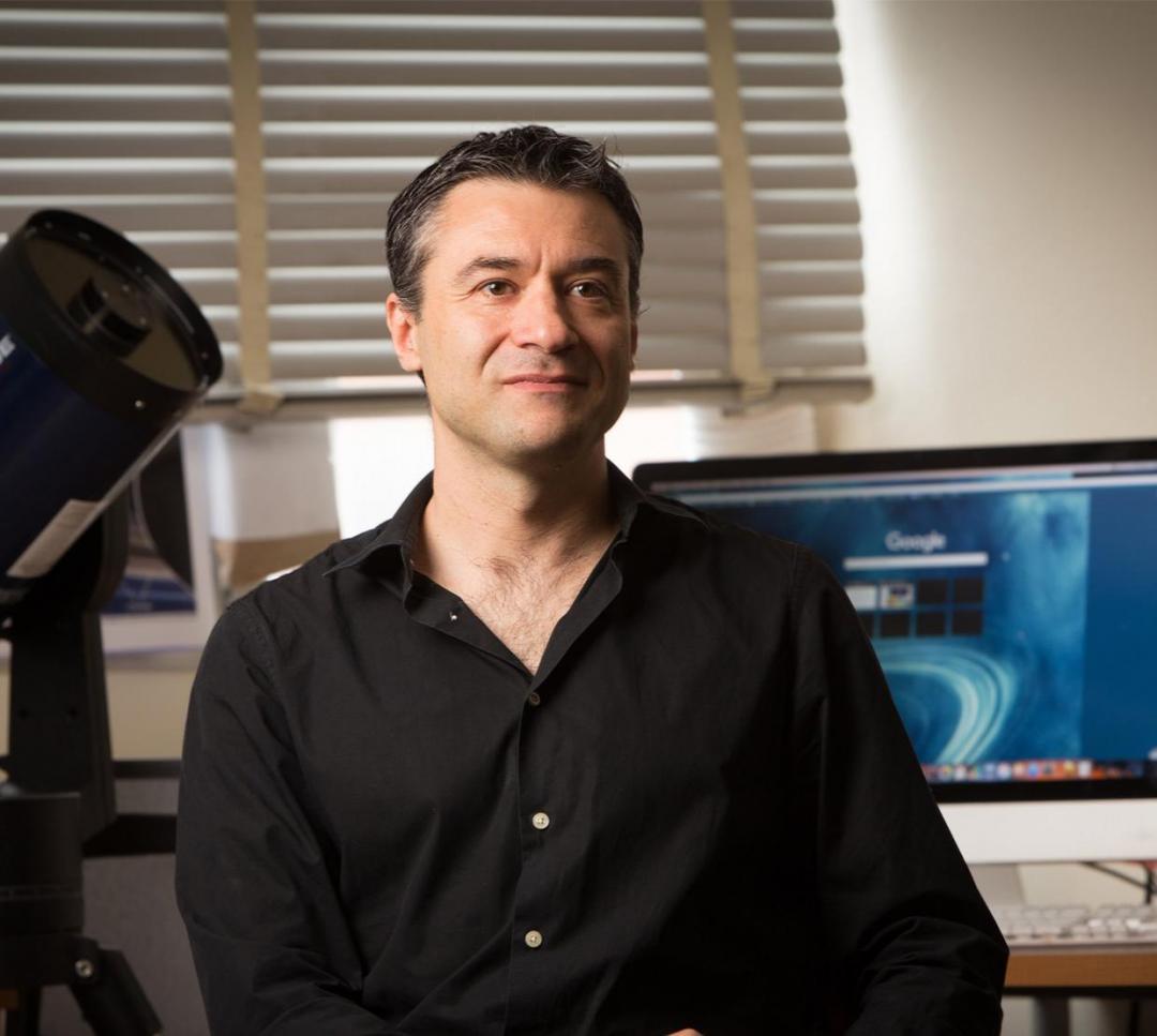 OSU physicist Davide Lazzati