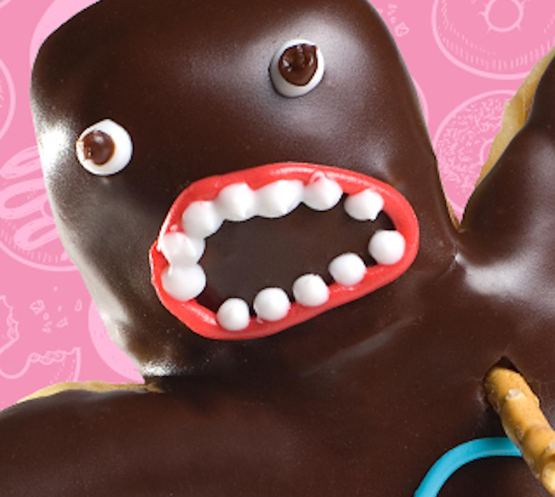 Voodoo doughnut face