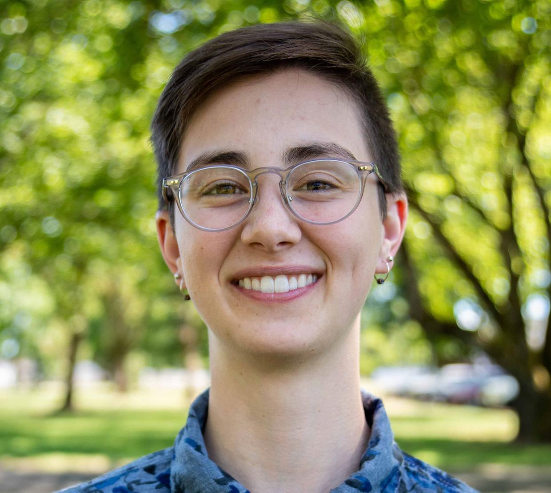 Megan Tucker standing in park