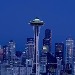 Seattle, Washington Space Needle and skyline