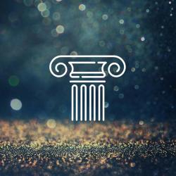 column icon above light texture