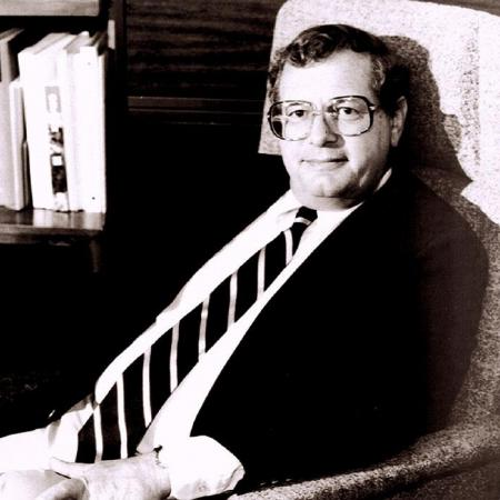 Dean Fred Horne in the Dean's Office