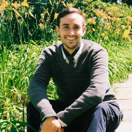 Bryan Lynn sitting outside