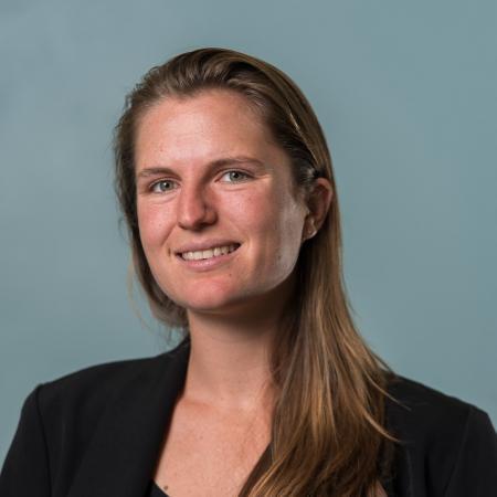 Ph.D. student and researcher Christine Tataru