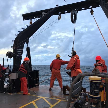 OSU marine scientists on the Oregon coast