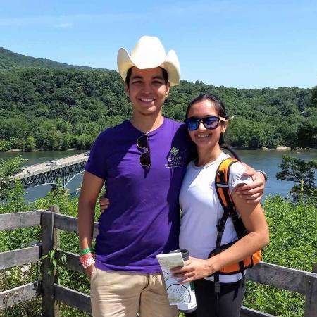 Oregon State mathematicians Axel Saenz Rodriguez and Swati Patel