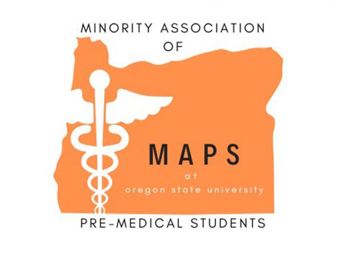 Minority Association of Pre-Medical Students Club logo.