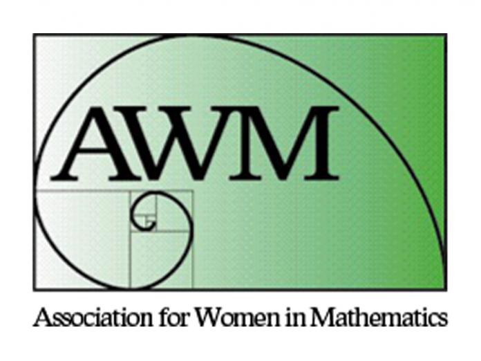 Association for Women in Mathematics logo.