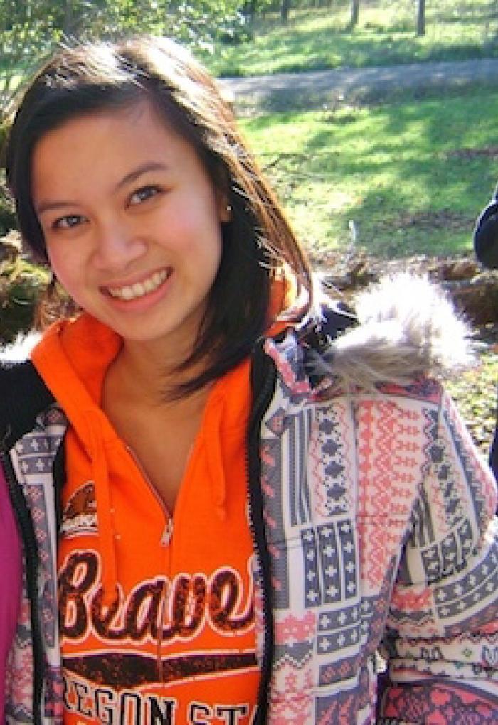 Van Ahn Vu standing in park