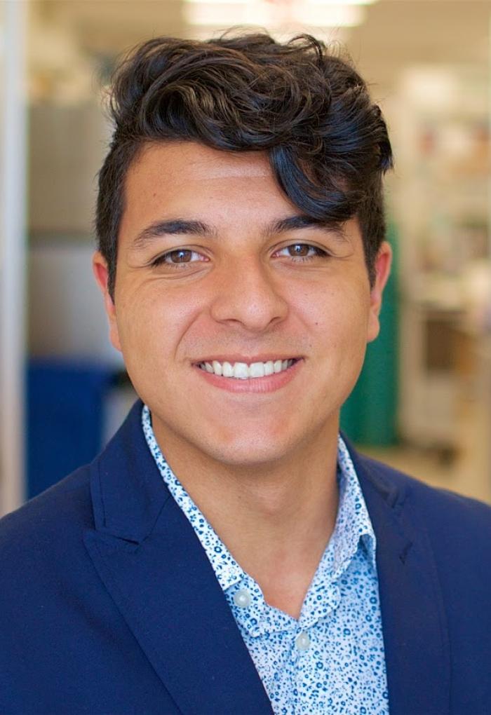 Diego Rodriguez, biochemistry senior