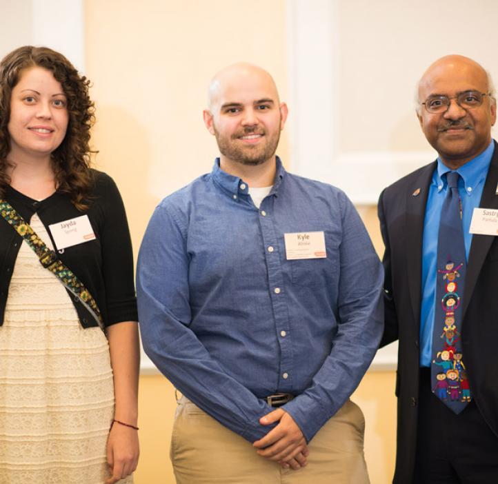 Dean Sastry Pantula and Herbert F. Frolander Graduate Teaching Assistant Kyle Almlie, Chemistry