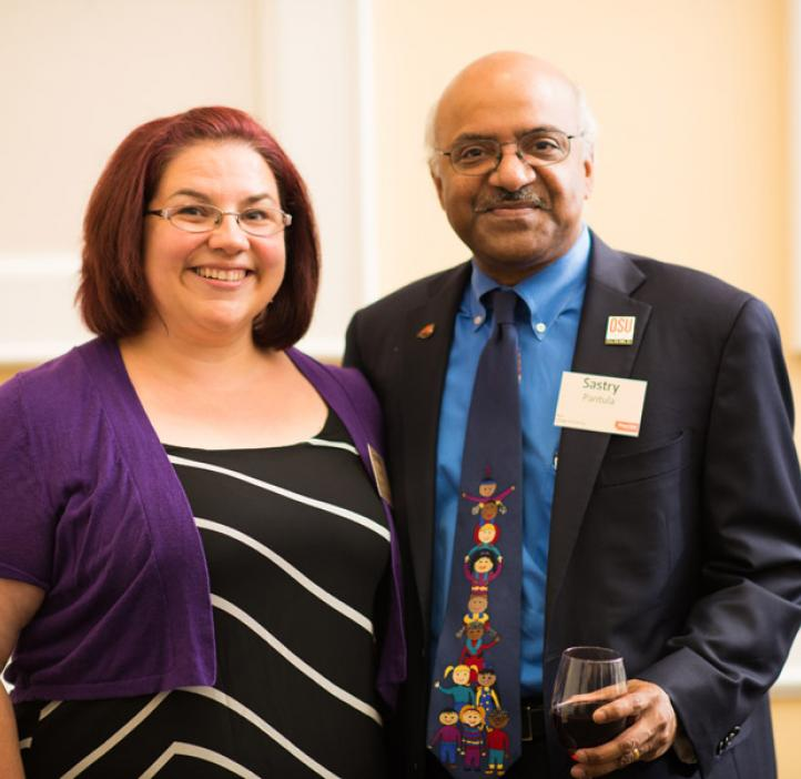 Dean Sastry Pantula and Herbert F. Frolander Graduate Teaching Assistant Emerald Stacy, Mathematics