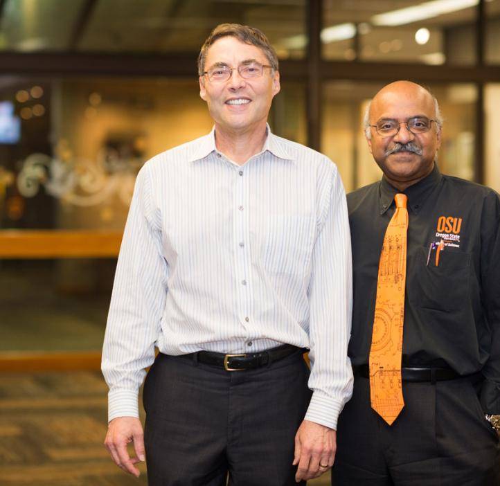 Carl Wieman with Sastry Pantula