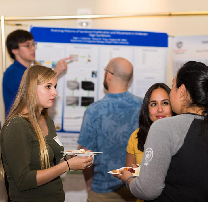 SURE Science student posters at 2017 Fall Awards