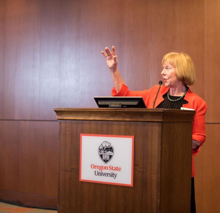 Distinguished Alumni Award recipient Suzanne McGrath