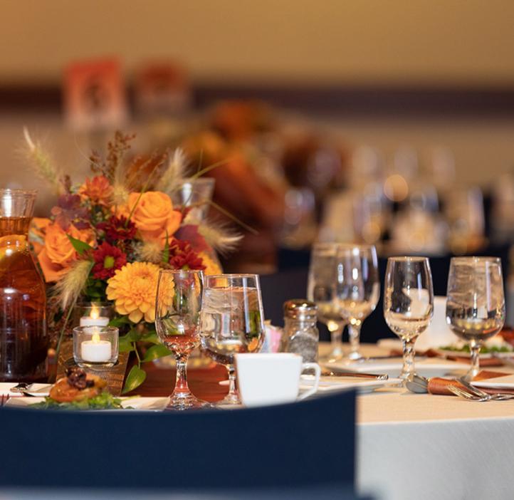 Floral table display