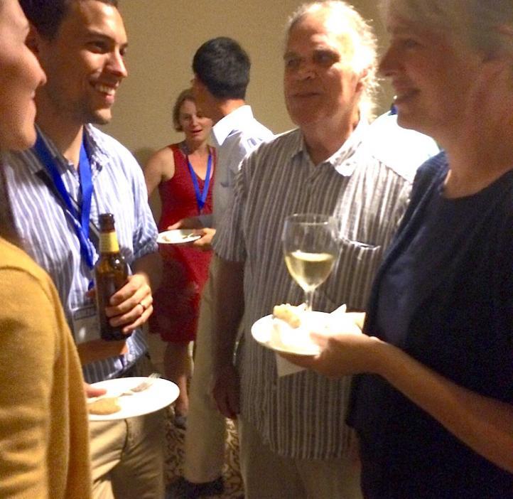 Mathmatics professor Ed Waymire accepts 2014 Carver Medal