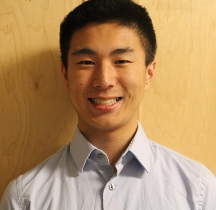 BioHealth Sciences major Joe Li