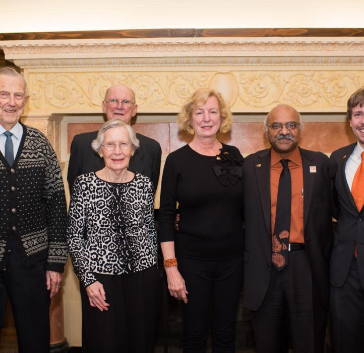 award winners with Sastry Pantula