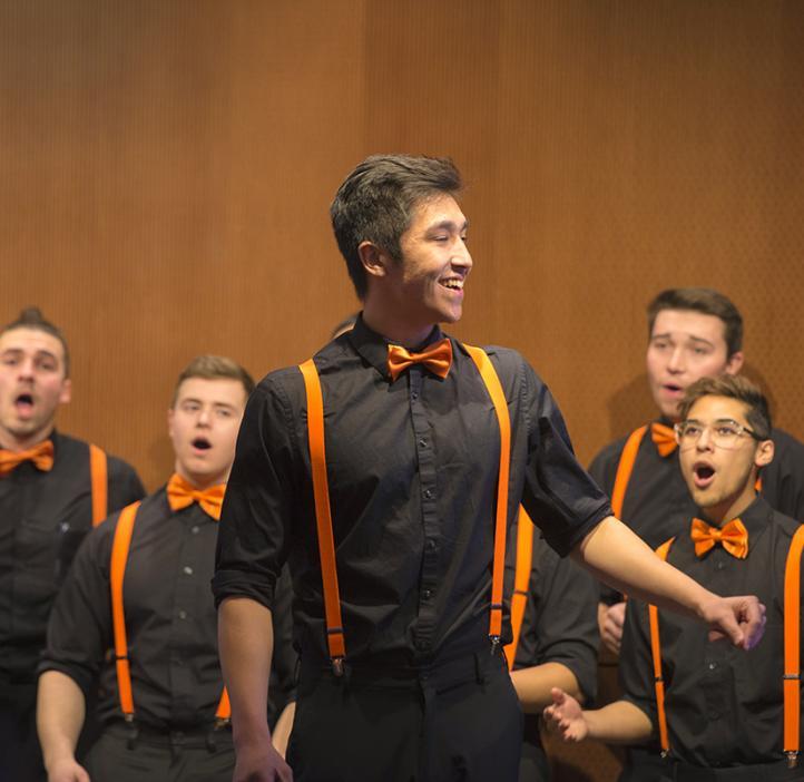 Outspoken, Oregon State's premier male a cappella group