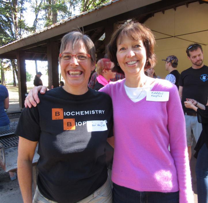 Karen Van Zee and Karen Karplus