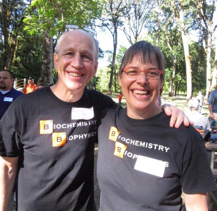 Andy Karplus and Karen Van Zee
