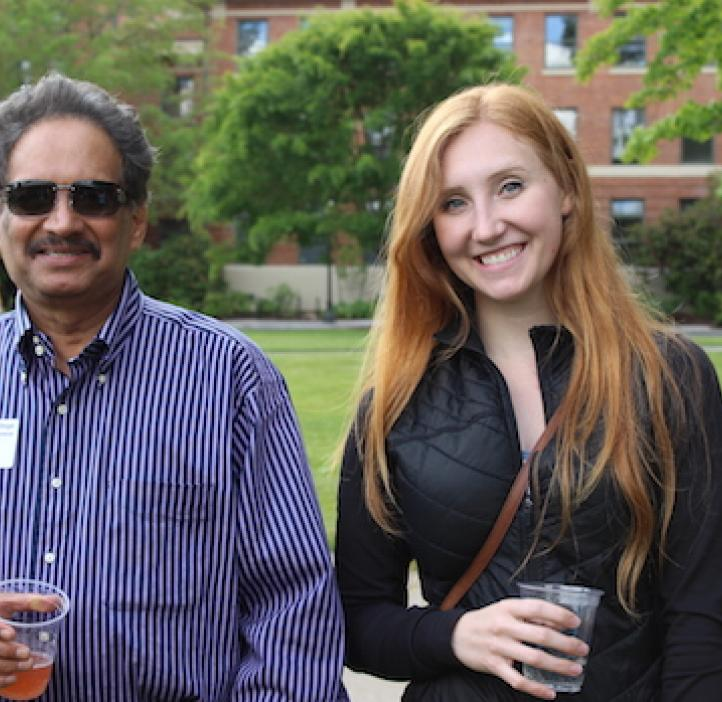 Mas Subramanian and female student