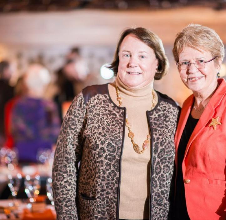 Jane Lubchenco and colleague