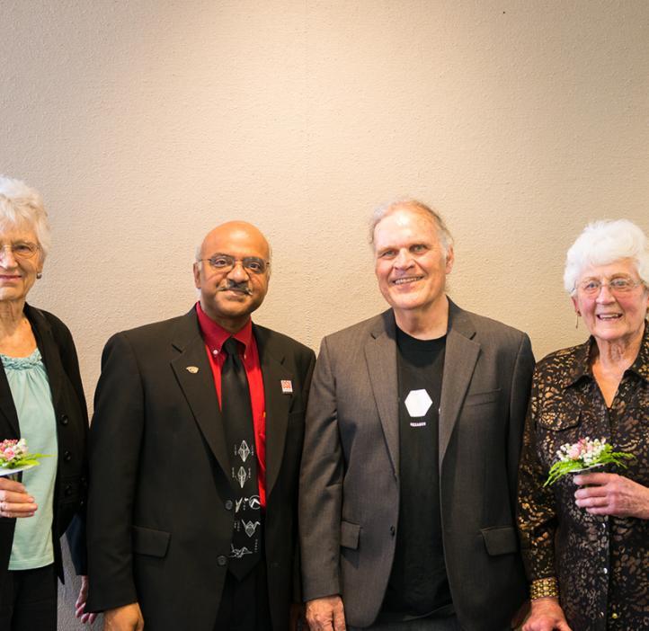 Sastry Pantula, Ed Waymire and the Gilfillan Sisters