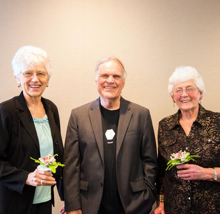 Ed Waymire and the Gilfillan Sisters – Nan and Ellen
