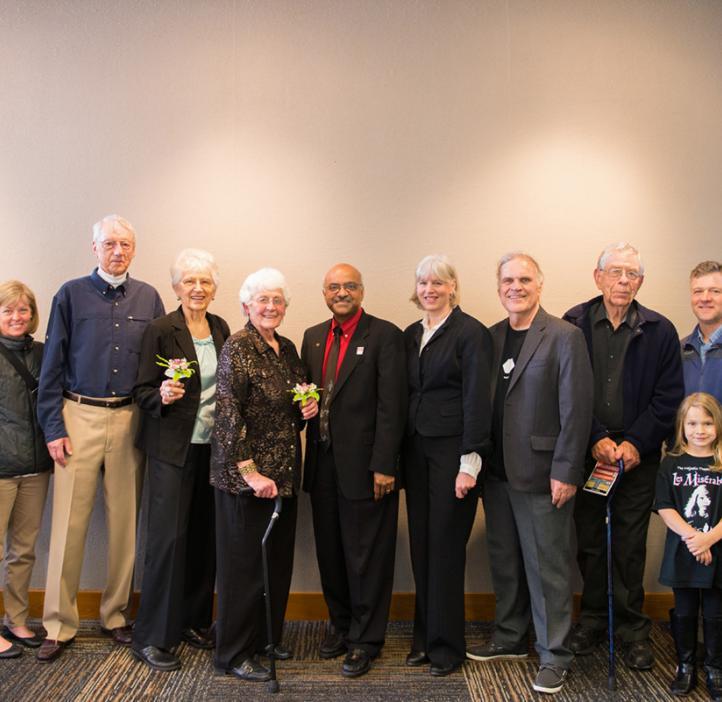 Ed Waymire, Sastry Pantula, and the Gilfillan Family