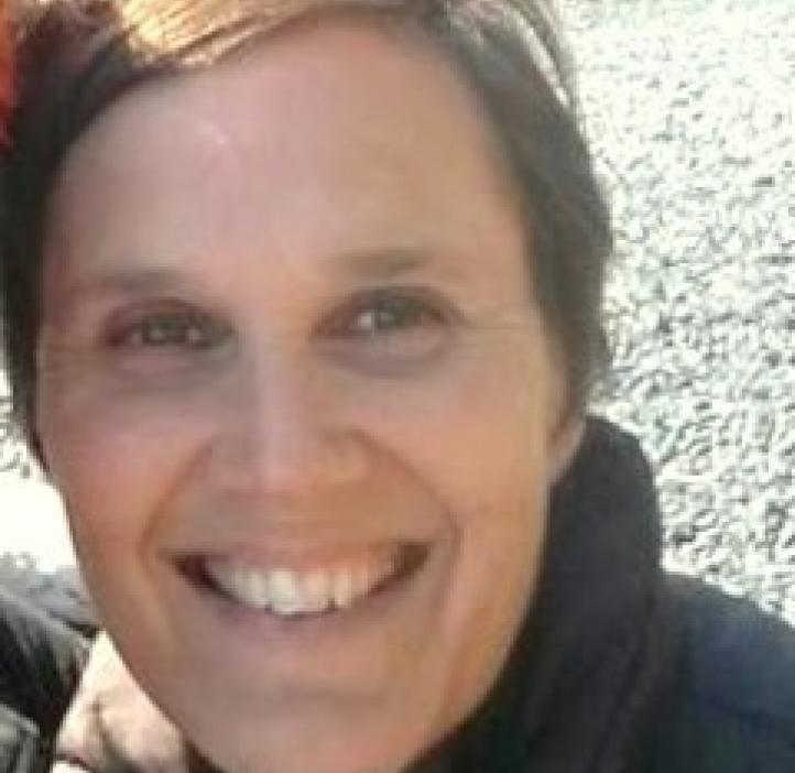 Lyn Riverstone, Mathematics professor on hiking trail