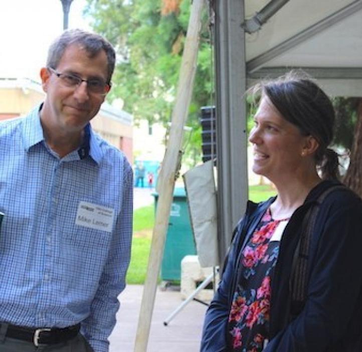 Mike Lerner and Julie Greenwood