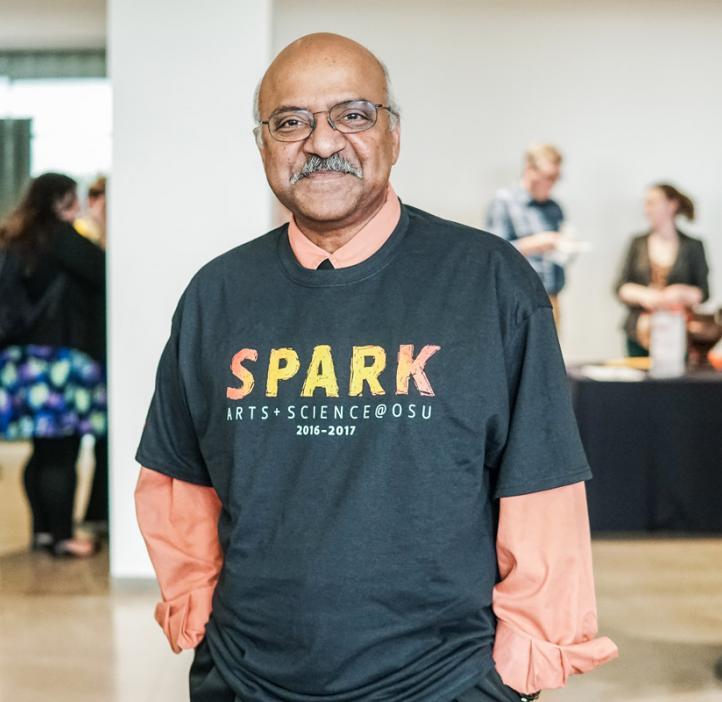Sastry Pantula in SPARK shirt