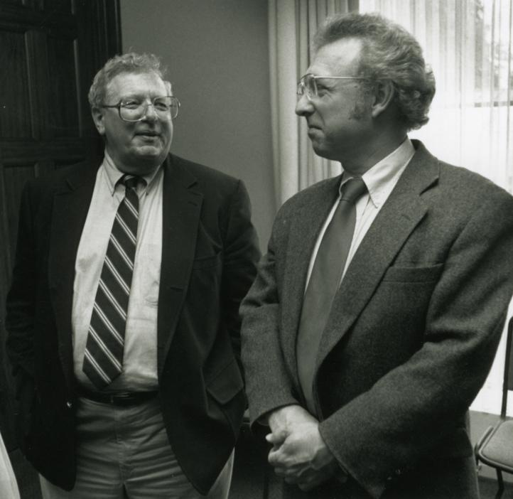 Fred Horne and Chemist Arthur Sleight