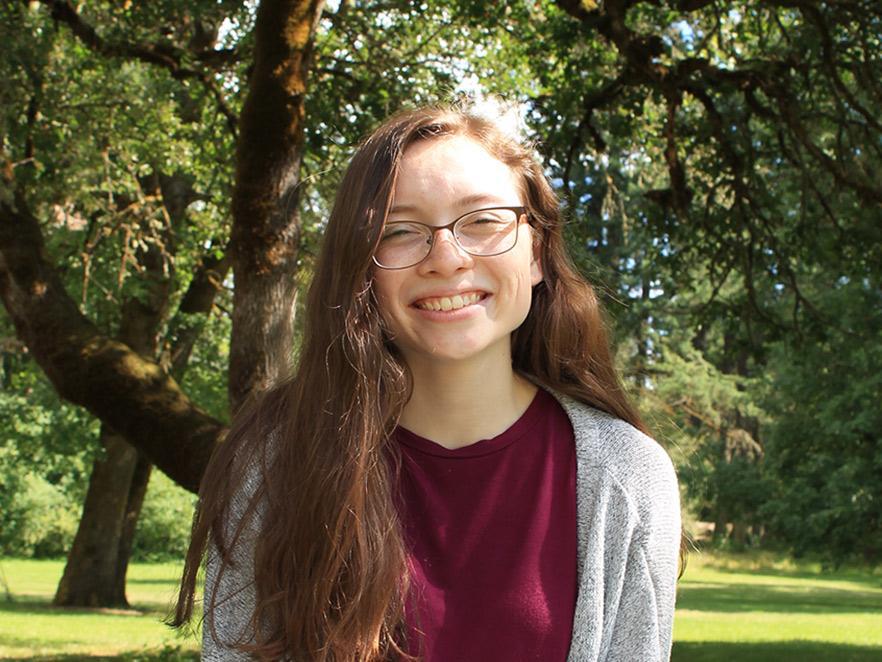 Kiara Tomlinson standing in park