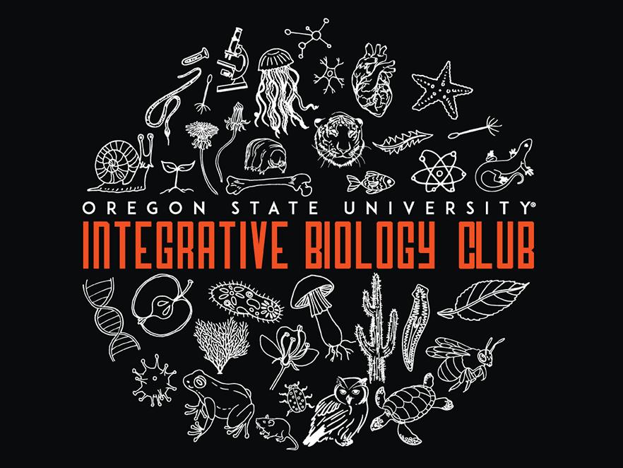 Integrative Biology Club logo.
