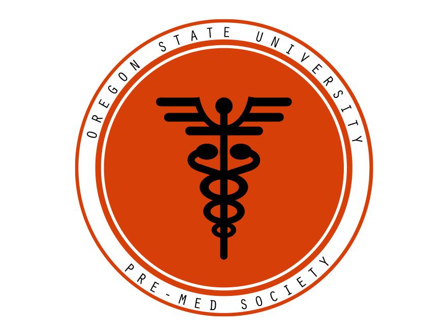 The OSU Pre-Medical Society logo.