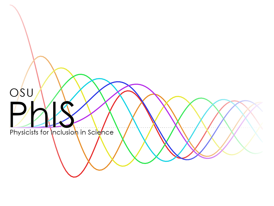 Physicists for Inclusion logo.