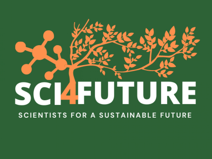 Scientists for a Sustainable Future logo.